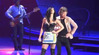 "Rolling Stones 2013-05-11 Vegas ""Beast of Burden"" with Katy Perry"