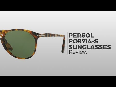 b298b281f1d Persol Folding Sunglasses Review - Persol PO9714-S Folding - YouTube
