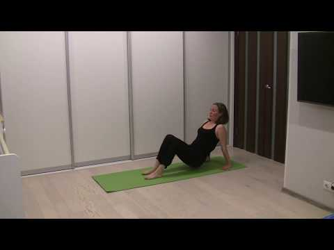 """Домашняя йога, комплекс от Игоря Долбышева и школы йоги """"Йога 365"""" (для  всех уровней)."""