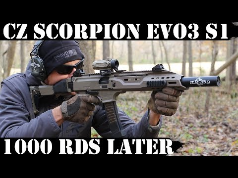 CZ Scorpion Evo3 S1, 1000rds Later!