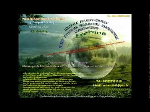 Digitale Präsentationen PR-Marketing,Werbetechnik Konietzny  Freising-Bayern.MP4