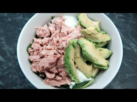 Low Carb Tuna Salad Recipe | Keto Diet Friendly Lunch Ideas