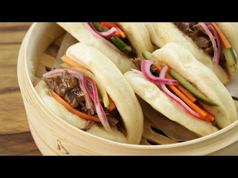 Pulled Beef Bao Buns Recipe