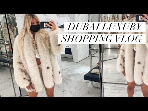 COME SHOPPING IN DUBAI! LUXURY SHOPPING VLOG