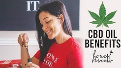 CBD OIL BENEFITS + what it did to my skin!