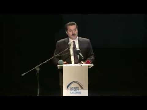 İstanbul'da Ak Parti Siyaset Akademisinde Yaptığım Konuşma