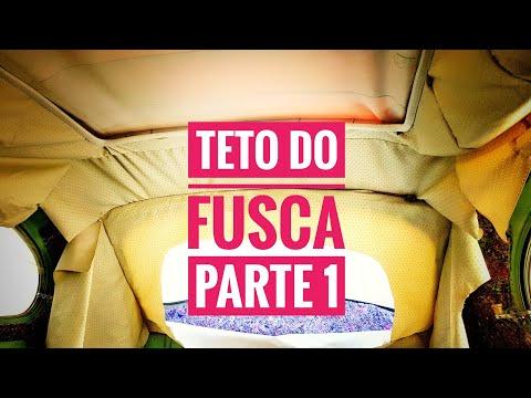 FORRO DE TETO DO FUSCA FAÇA EM CASA - 1