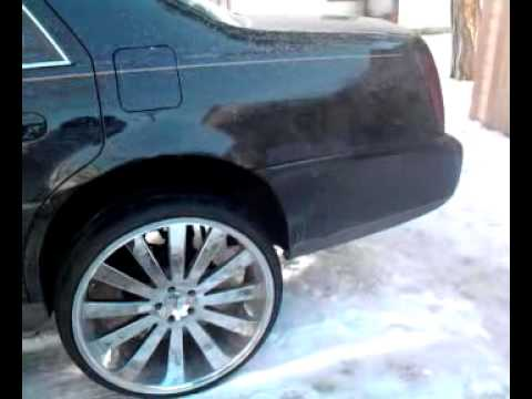 Cadillac Deville On 24s Youtube