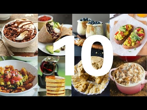 10 VEGAN BREAKFAST RECIPES YOU NEED TO TRY