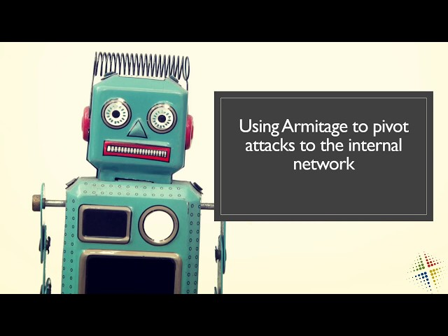 Using Armitage to pivot attacks to the internal network