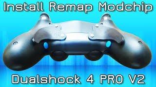 How to install Easy Remap modchip Dualshock 4 PRO V2