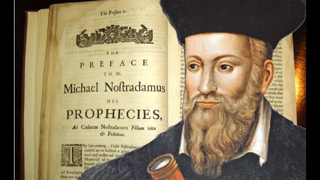 It is childishly simple to predict the future if you see through the script: become a Nostradamus