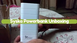 Best SYSKA Power Bank to Buy in 2020 | SYSKA Power Bank Price, Reviews, Unboxing and Guide to Buy