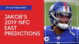 Jakob Vaughan's 2019 NFC East Predictions