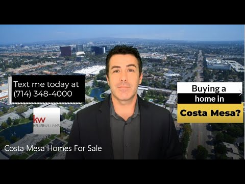 Costa Mesa Homes For Sale: Why You Should Buy
