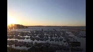 Sunset Over Brixham Marina - Nick Stewart