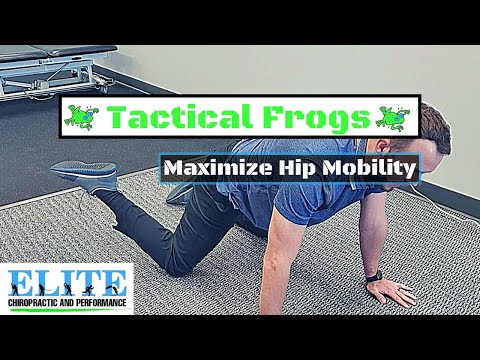 Tactical Frogs | Hip Mobility Exercise