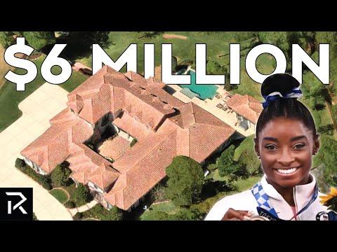 Inside Simone Biles Million Dollar Mansion
