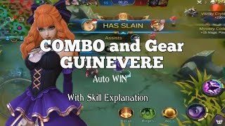 Combo and Build Gear Item Guinevere Auto WIN