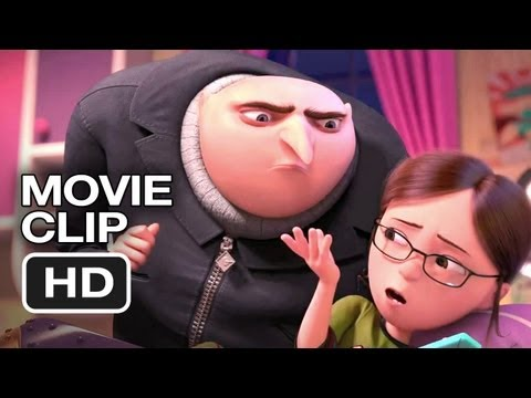 Despicable Me 2 Movie CLIP - Never Get...