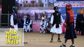 Sikh martial arts confrontation: Gatka in Punjab heartland