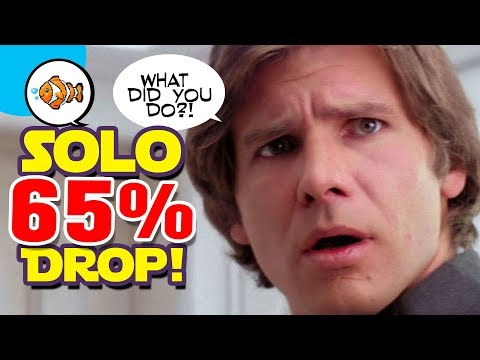 SOLO DROPS 65%! A Disney Star Wars Box Office Bomb