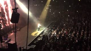 "Drake - ""Jungle intro/ Legend"" live @ United Center in Chicago. 2015 Jungle Tour"