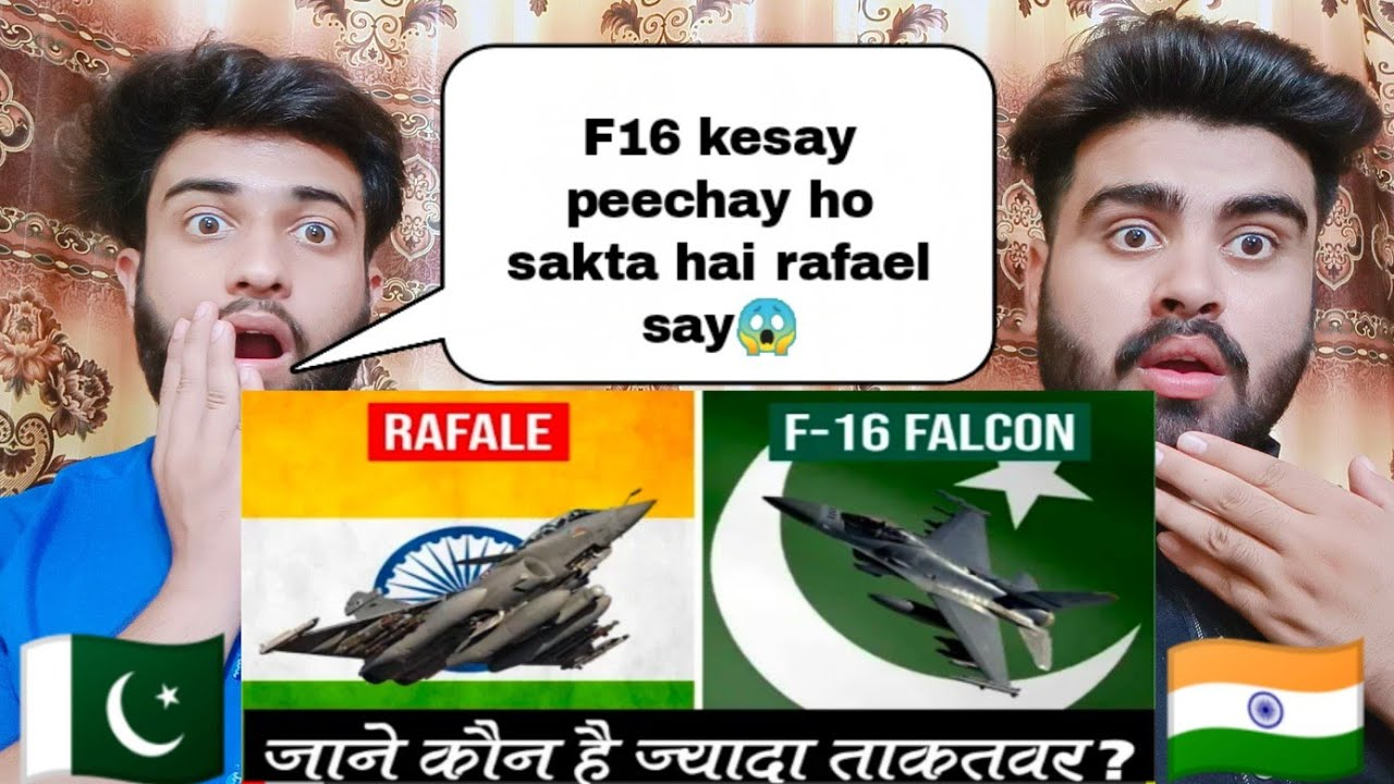Comparison Between Indian Rafael and Pakistani F16 2020 by Pakistani Bros Reactions 