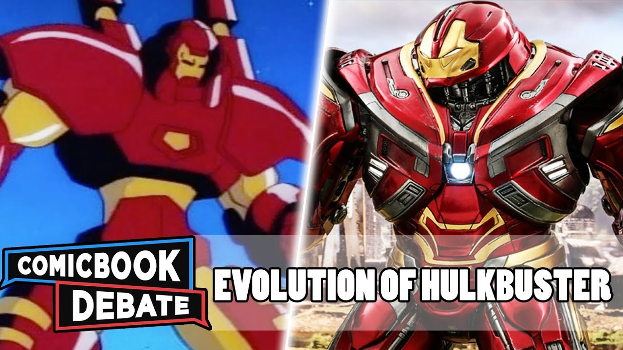 Evolution of Hulkbuster in All Media in 13 Minutes (2018)