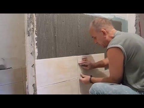 Как правильно уложить плитку на гипсокартон