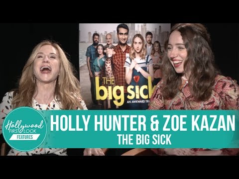 Holly Hunter & Zoe Kazan FUNNY interview for THE BIG SICK (2017)