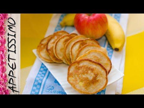 Постные оладьи с бананом и яблоками. Постные рецепты / Vegan Banana & Apple Fritters. Vegan Recipes
