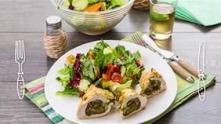 Курица, фаршированная вялеными томатами, с лёгким салатом: рецепты от ШЕФМАРКЕТ