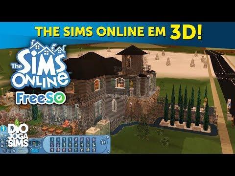ATUALIZAÇÃO: THE SIMS ONLINE EM 3D! (vídeo demonstrativo) | FreeSO Download Free (grátis)