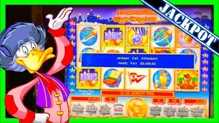 NAIL BITING! The MOST SUSPENSEFUL SLOT MACHINE JACKPOT on Youtube W/ SDGuy1234