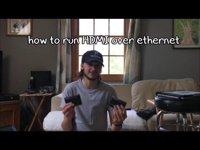 HDMI over Ethernet