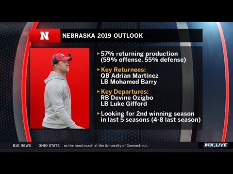 Nebraska Coach Scott Frost Previews 2019 Husker Football | 2019 B1G Football Media Days