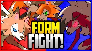 Lycanroc: Dusk vs Midday vs Midnight | Pokémon Form Fight
