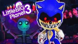LittleBigPlanet 3 - Sonic.Exe In The Wicked Land - PS4 Gameplay
