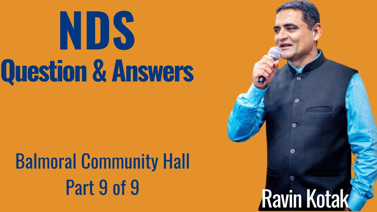 NDS-Questions & Answers-Balmoral Community Hall-Part-9