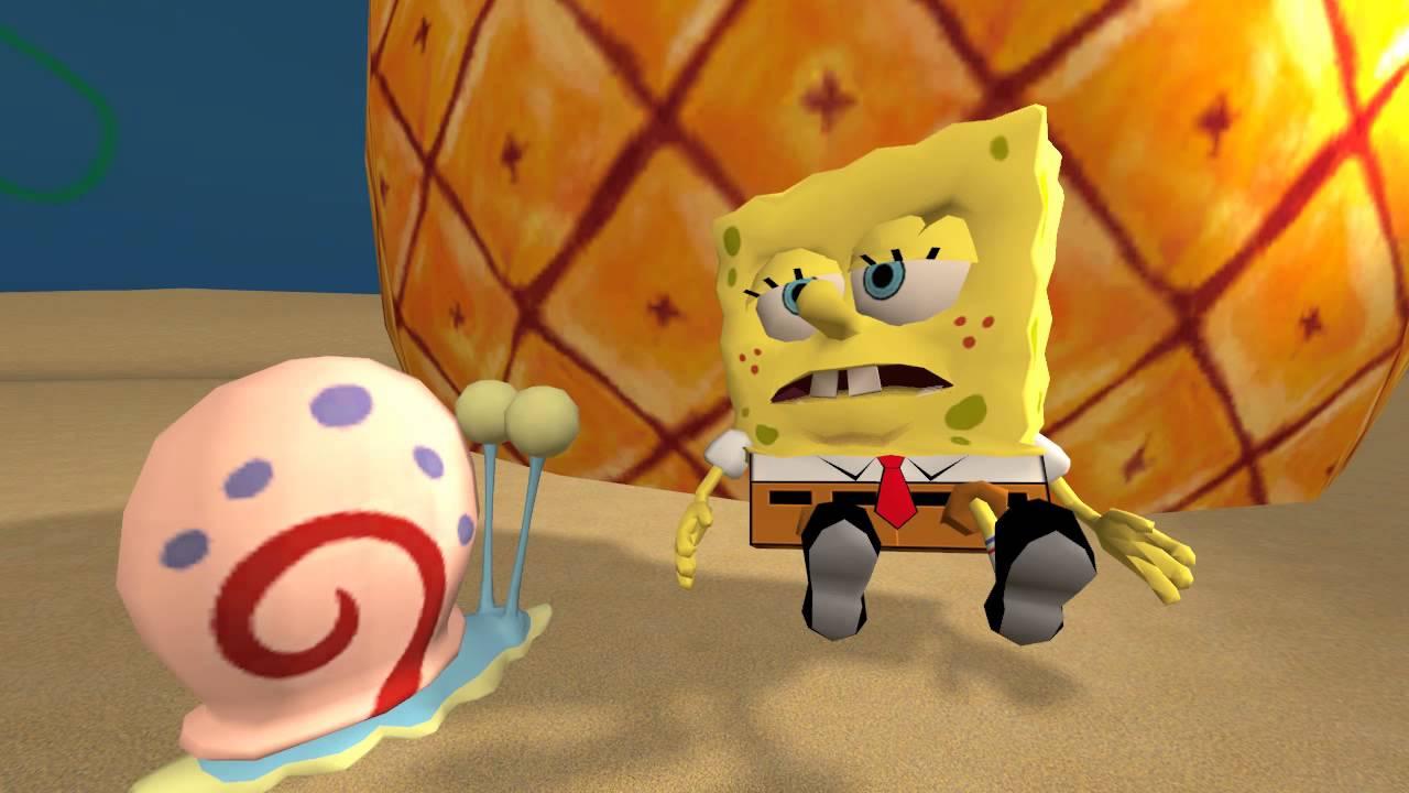 wii u spongebob