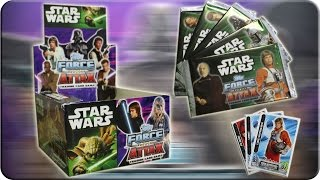 Star Wars Force Attax DISPLAY Serie 2 Unboxing The Movie Card Collection