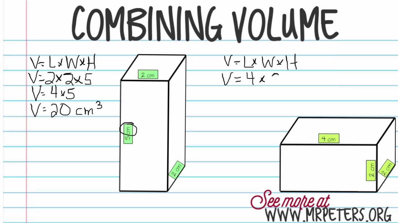 Topic 12.6 Combining Volume - YouTube [ 720 x 1280 Pixel ]