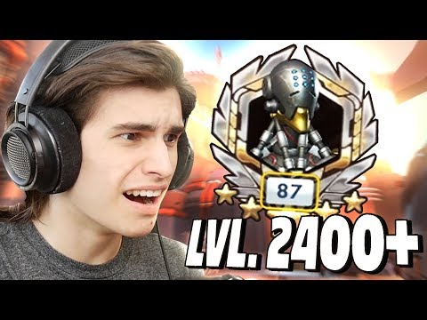 Playing With A Level 2400+ ZENYATTA in Overwatch!? - Funny Moments