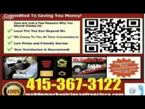 Mobile Auto Mechanic SanFrancisco Pre Purchase Foreign Car Inspection Vehicle Repair Service Near Me
