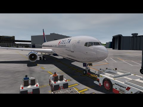 Flight Simulator 2019 | Ultra Realism | Delta 767 |Seattle to Amsterdam