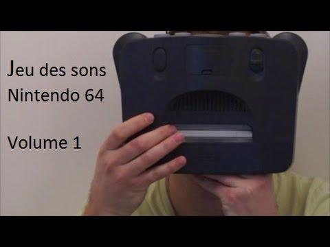 Jeu des sons (Nintendo 64) Volume 1