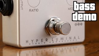Darkglass Hyper Luminal Compressor Bass Demo