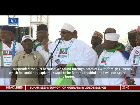 Buhari Continues Re-election Campaign In Zamfara State