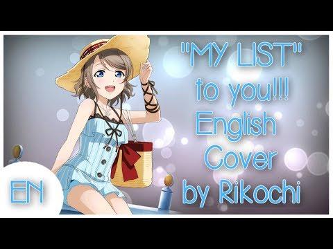 "「English」【ラブライブ!サンシャイン!!】""MY LIST"" To You!! By Rikochi"